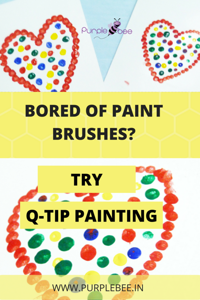 Q-TIP painting for kids