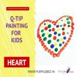 Q tip Painting for children