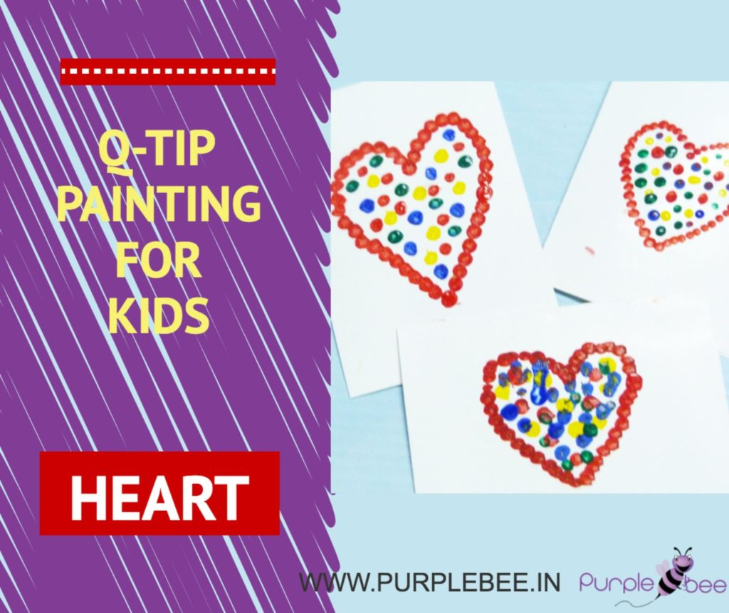 q tip painting to improve motor skills in children