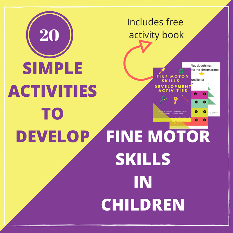 Simple Activities to develop fine motor skills in children (Free Download)