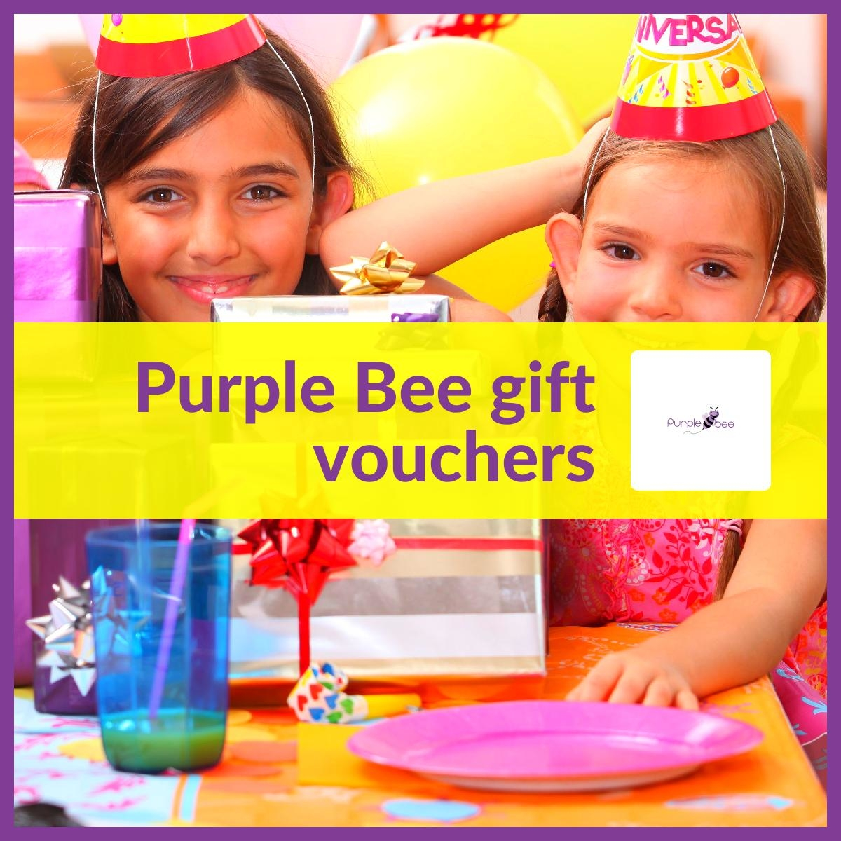 Purple Bee birthday gifts for kids