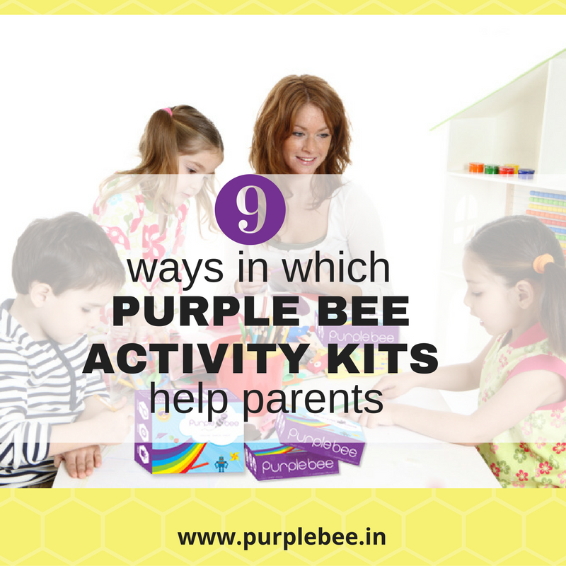 [INFOGRAPHIC] 9 ways Purple Bee activity kits help parents