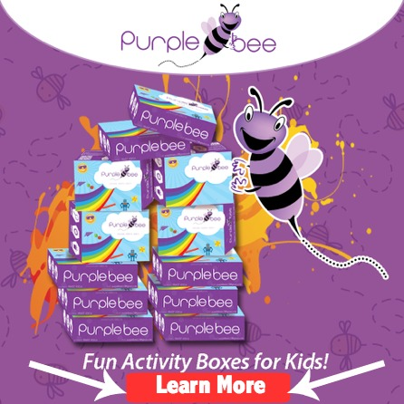Learn more about Purple Bee activity kits for children