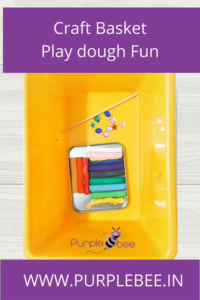 craft basket paly dough fun