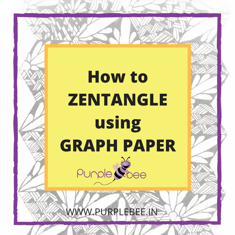 How to zentangle using graph paper