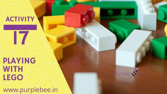 fine motor skills with lego