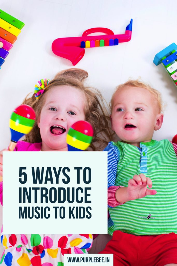 introducing music to kids