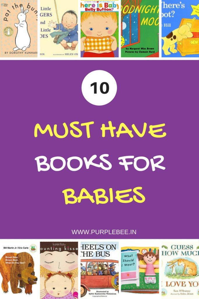 10 must have books for babies