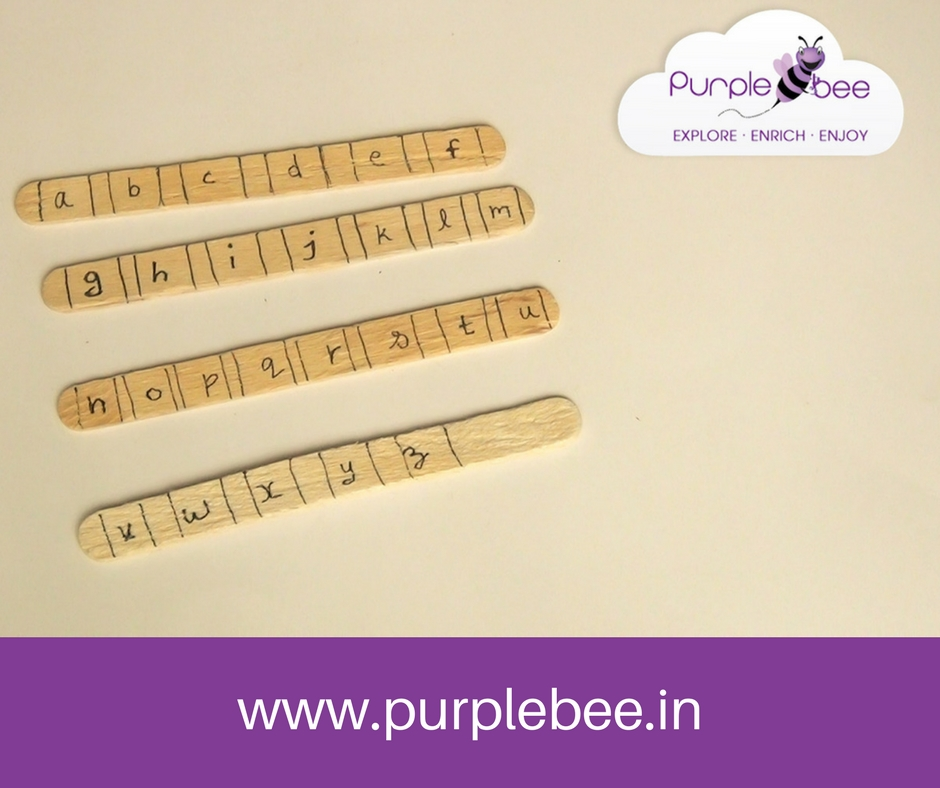 alphabet matching activity