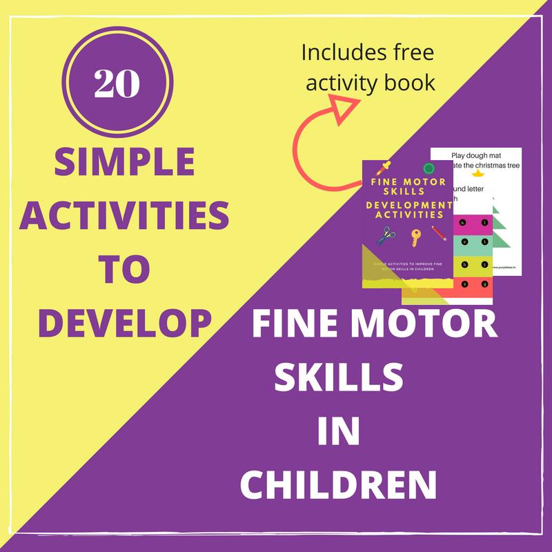 20 Simple activities to develop fine motor skills in children + FREE activity book