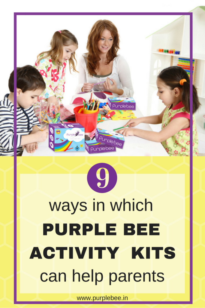 9 ways in which purple bee activity kits can help parents