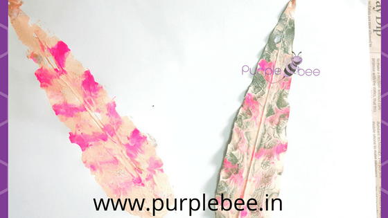 leaf print craft