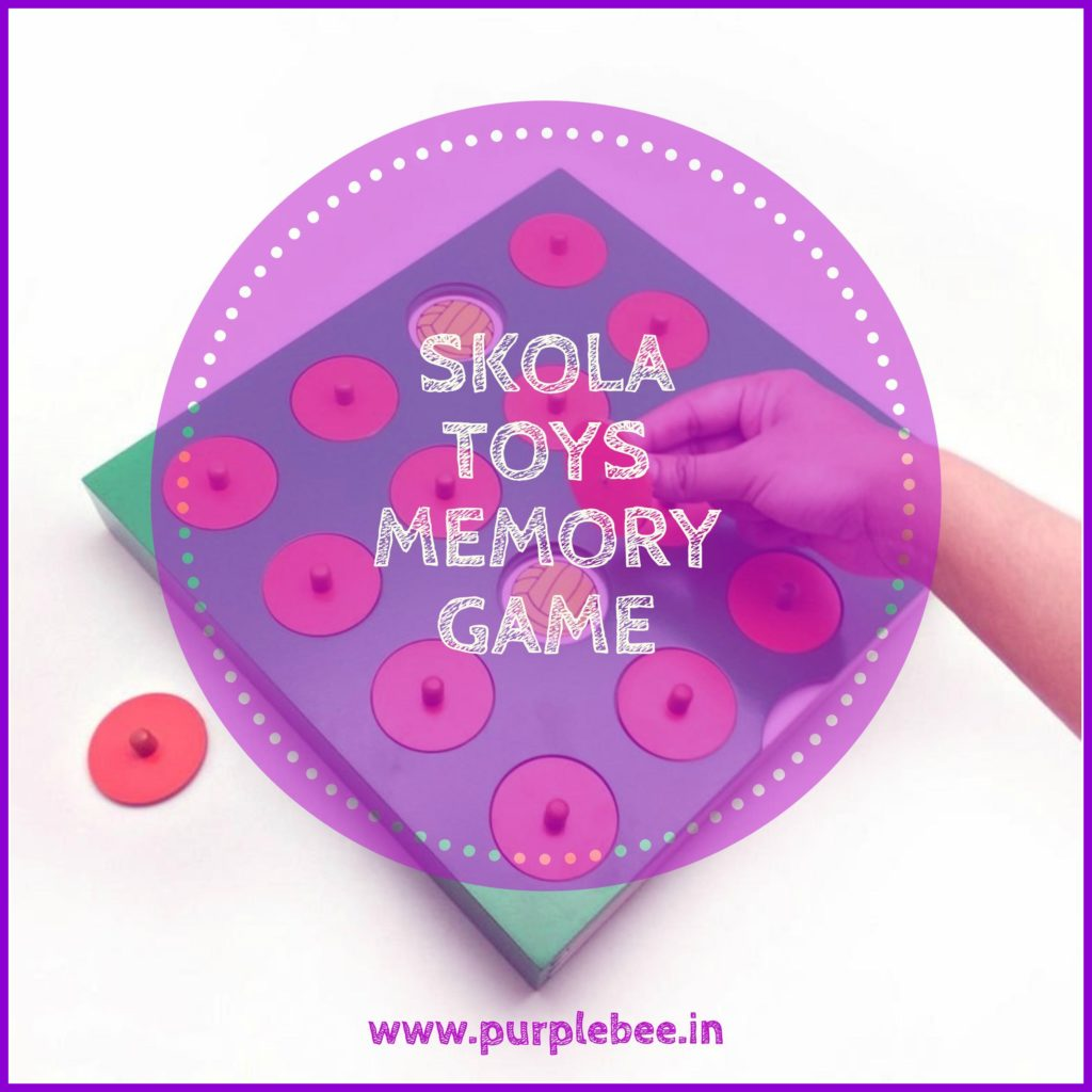 Purple Bee review: Skola Toys Memory game Review + GIVEAWAY