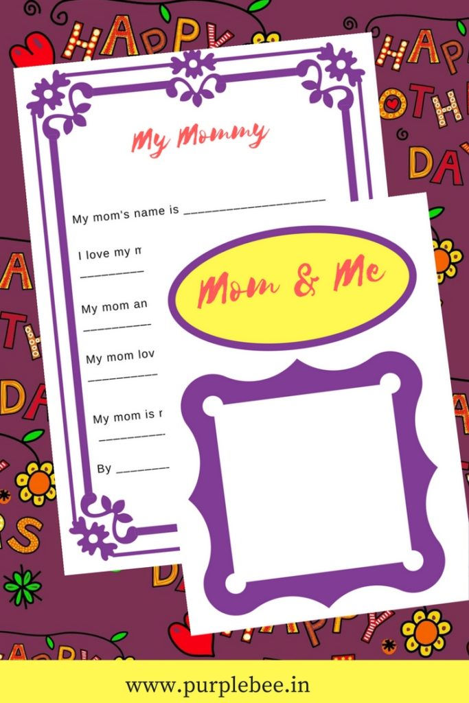 all about mom mothers day questionnaire