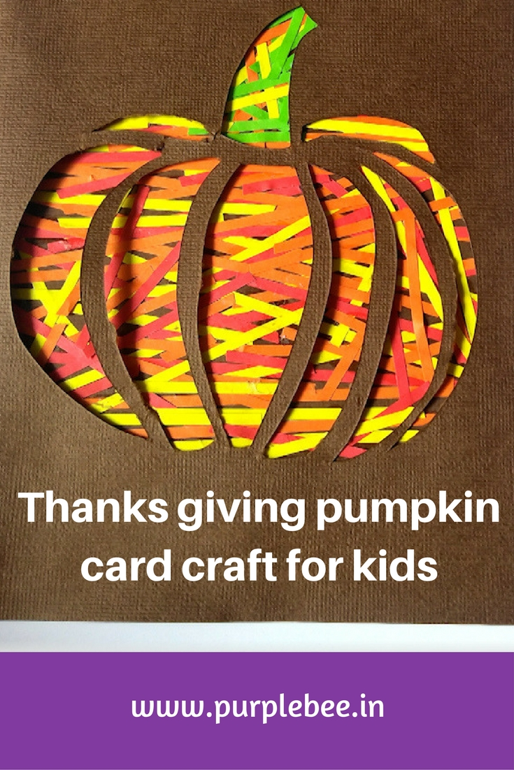 thanks giving craft for kids